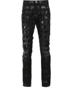 Philipp Plein | Fun Kinds Batman Jeans 32 Cotton/Polyester/Spandex/Elastane
