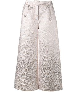 OSMAN   Brocade Culottes 14 Silk/Polyester