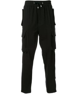 Cy Choi | Elasticated Waistband Drop-Crotch Trousers 50 Cotton
