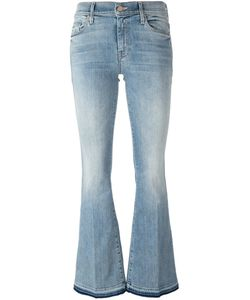 Mother | Stonewashed Flared Jeans 29 Cotton/Polyester/Spandex/Elastane