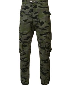 Mr. Completely | Camouflage Print Trousers Xl Cotton/Spandex/Elastane
