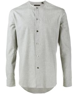 Curieux | Collarless Shirt 15 1/2 Cotton