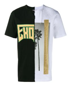 PALM ANGELS | Exodus And Palm Print T-Shirt Mens Size Xs