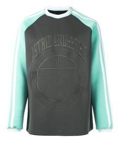 Astrid Andersen | Embroidered Logo Sweatshirt Large Polyester