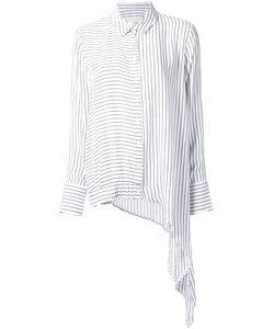 Elaidi | Asymmetric Hem Long Shirt 44 Polyester/Viscose
