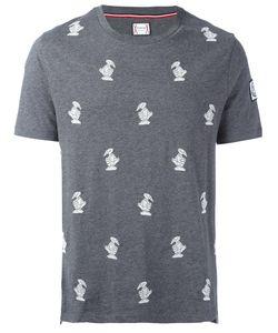 Moncler Gamme Bleu | Embroidered Bird T-Shirt Xl Cotton