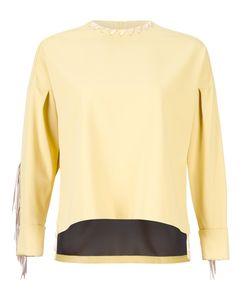 PONTI   Fringed Blouse Nylon/Polyester/Cupro