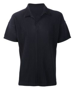 HOMME PLISSE ISSEY MIYAKE | Homme Plissé Issey Miyake Pleated Polo Shirt 2