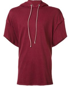 Mr. Completely | Shortsleeved Hoodie Large Cotton