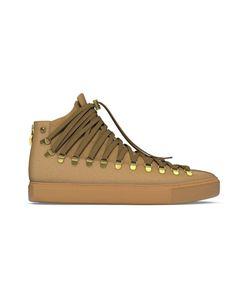 MYSWEAR | Redchurch Hi-Top Sneakers 43 Calf Leather/Suede/Rubber