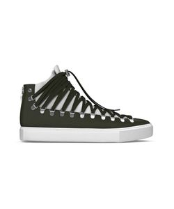 MYSWEAR   Redchurch Hi-Top Sneakers 35 Calf Leather/Nappa Leather/Suede/Rubber