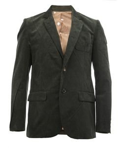 Undercover | Notched Lapel Ribbed Blazer 5 Cotton/Polyester/Cupro