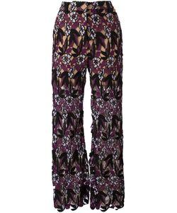 SELF-PORTRAIT | Macrame Trousers 8 Polyamide/Polyester/Spandex/Elastane