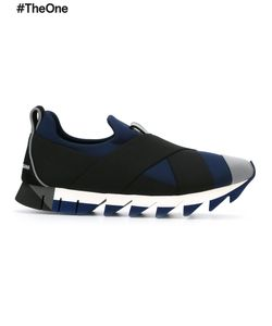 Dolce & Gabbana | Ibiza Slip-On Sneakers 37.5 Neoprene/Nylon/Rubber