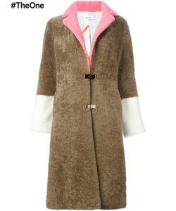Saks Potts | Contrast Sleeves Shearling Coat 2 Sheep