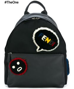 Fendi | Faces Backpack Leather/Sheep Skin/Shearling/Polyamide