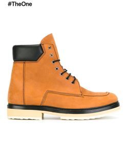 Pierre Hardy   Classic Hiking Boots 40 Lamb Skin/Leather/Calf