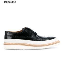 WHF WEBER HODEL FEDER | Weber Hodel Feder Hartford Brogue Shoes 41.5 Leather/Rubber