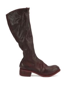 GUIDI | Knee Length Boots 37 Horse Leather