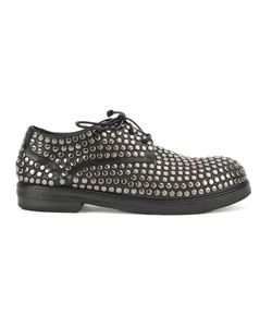 Marsell | Marsèll Studded Lace-Up Shoes 36 Calf Leather/Horse Leather/Rubber