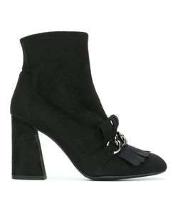 Stuart Weitzman | Ringleader Boots 37 Leather/Suede/Rubber