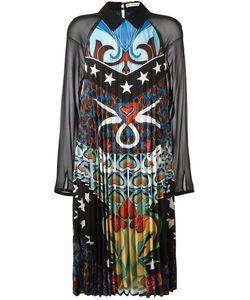 Mary Katrantzou | Fortune Heart Nouveaux Pleated Dress 8