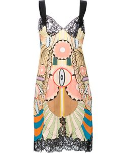 Givenchy | Crazy Cleopatra Printed Dress 38 Silk