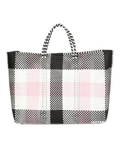 Truss Nyc | Large Checked Tote