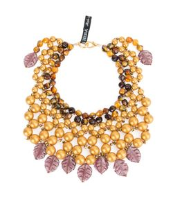 Afroditi Hera | Embellished Beaded Necklace