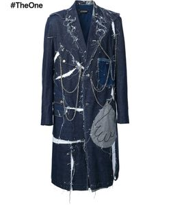 Icosae | Jean Couture Coat Medium Cotton
