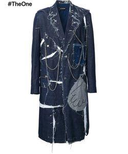 Icosae | Jean Couture Coat Medium Cotton