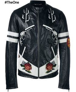 Dolce & Gabbana | Western Leather Jacket 50 Silk/Calf