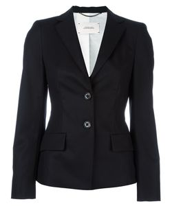 Dorothee Schumacher | Flap Pockets Fitted Jacket 3 Cotton/Polyester/Acetate