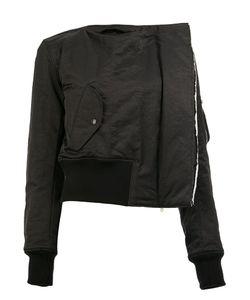 Yang Li | Collarless Jacket 38 Polyamide/Polyester/Viscose