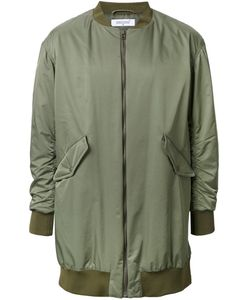 FAD THREE | Oversized Bomber Jacket Medium Nylon/Polyester