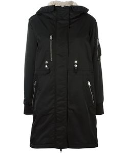 Diesel | Buttoned Hooded Mid Coat Small Acrylic/Polyester