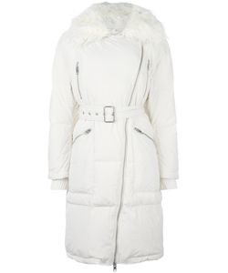 Diesel | Fur Collar Zip Coat Xs Feather Down/Nylon/Polyester