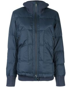 Diesel | Ribbed Trim Puffer Jacket Large Cotton/Feather Down/Nylon