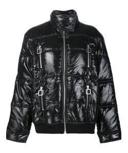 Courreges | Courrèges Short Puffer Jacket 38 Cotton/Nylon/Polyamide/Viscose