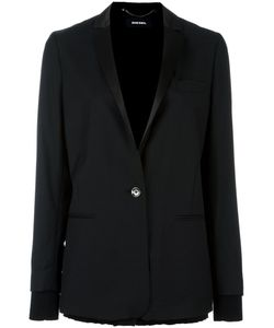 Diesel | Boxy Blazer Large Cotton/Polyester/Viscose