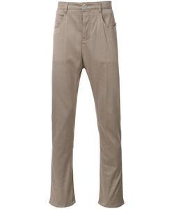 KAZUYUKI KUMAGAI | Slim Fit Trousers 3 Cotton/Polyurethane/Rayon