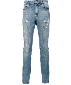 Faith Connexion | Distressed Slim Fit Jeans 29 Cotton/Spandex/Elastane
