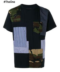 Sophnet. | Patchwork T-Shirt 4 Cotton