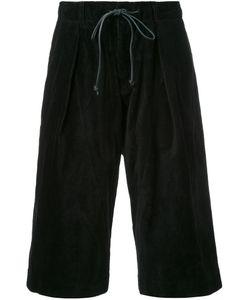 KAZUYUKI KUMAGAI | Drawstring Shorts 2 Cotton