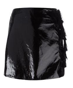 Kenzo | Faux Patent Leather Mini Skirt 38 Polyester/Polyurethane