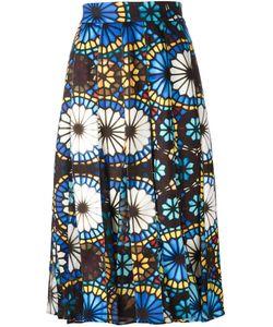 Miahatami | Stained Glass Print Skirt 40 Polyester/Spandex/Elastane