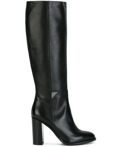 Baldinini | Knee Length Boots 38 Calf Leather/Leather/Rubber