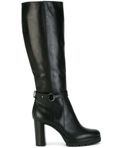 Baldinini | Knee Length Boots 38.5 Calf Leather/Leather/Rubber
