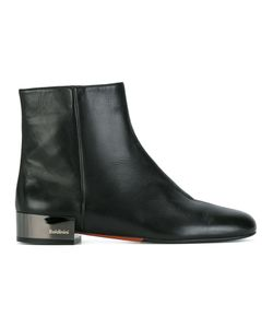 Baldinini | Ankle Boots 39.5 Calf Leather/Leather/Rubber