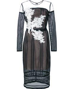 Nha Khanh | Sheer Lace Dress 12 Nylon/Polyester